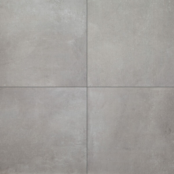 Urban Cement Grey Stone Effect Ceramic Wall Floor Tile: Urban Concrete Fog Matt 600x600