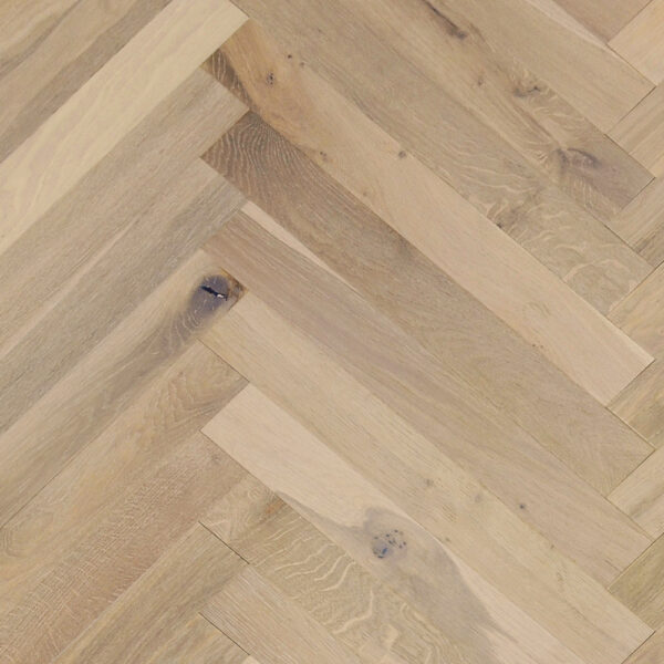 French Oak Prefinished Danish Natural Herringbone